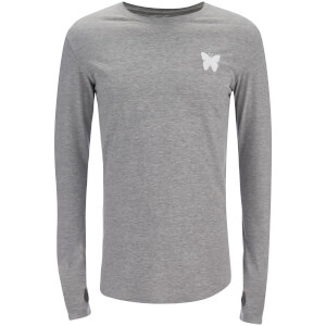 Good For Nothing Men's Stream Long Sleeve Top - Grey