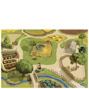 Papo Farmyard Friends: Farm Playmat
