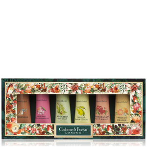 CRABTREE & EVELYN BOTANICALS HAND THERAPY SAMPLER 6X25G