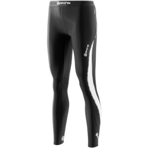 Skins DNAmic Women's Thermal Long Tights - Black/Cloud