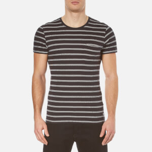 Selected Homme Men's Sail O-Neck T-Shirt - Dark Navy