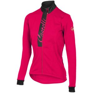 Castelli Women's Sorriso Long Sleeve Jersey - Pink/Grey