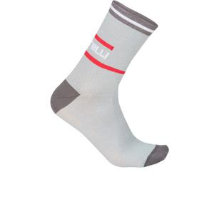 Castelli Incendio 12 Cycling Socks - Grey