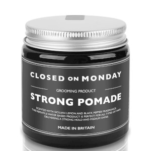 Closed on Monday Strong Pomade 100ml