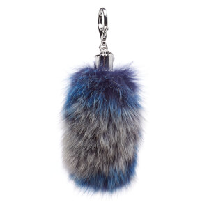 Rebecca Minkoff Women's Fox Tail Bag Charm - Blue Multi