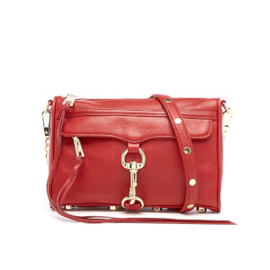 Rebecca Minkoff Women's Mini M.A.C. Cross Body Bag - Deep Red