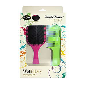 Denman Wet and Dry Detangling Set