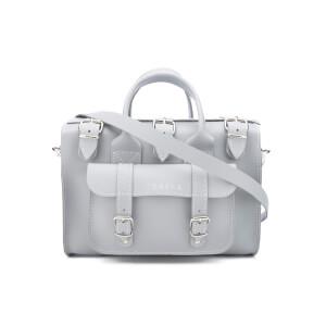 Grafea Women's Luna Leather Shoulder Bag - Misty