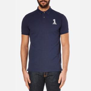 Hackett London Men's New Classic Polo Shirt - Navy/Grey