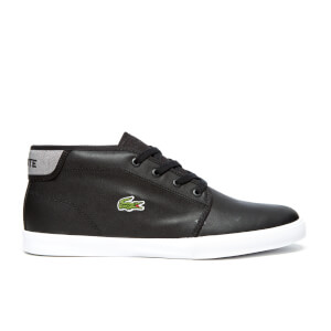 Lacoste Men's Ampthill 116 2 SPM Mid-Top Trainers - Black