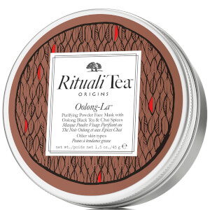 Origins RitualiTea Oolong-La Purifying Powder Face Mask with Oolong Black Tea and Chai Spice (45g)
