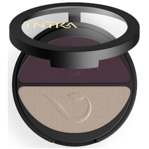 INIKA Pressed Mineral Eyeshadow Duo - Plum & Pearl