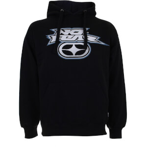 No Fear Men's Logo Stripe Hoody - Black