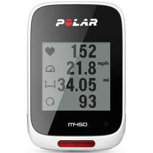 Polar M450 GPS Bicycle Computer - White