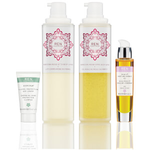 REN Relax with Rose Set (Worth $165)