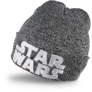 Star Wars Men's Logo Beanie - Grey