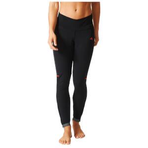 adidas Women's Supernova Rompighiaccio Tights - Black/Orange