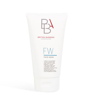 British Barbers Association Face Wash 150ml