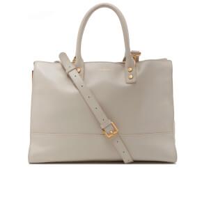 Lulu Guinness Women's Daphne Medium Smooth Leather Cross Body Bag - Porcelain
