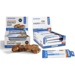 Myprotein Energy Elite/Bar Bundle - Orange/Apricot
