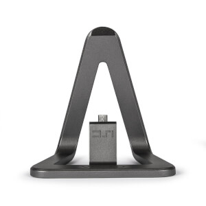 Veho DS1 Mobile Stand Android Micro-USB Charging Dock - Grey