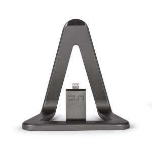 Veho DS1 Mobile Stand iPhone Lightning Charging Dock - Grey