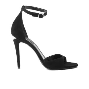 Alexander Wang Women's Tilda Two Part Suede Leather Sandals - Black