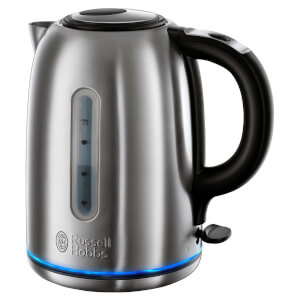 Russell Hobbs 20460 1.7L Quiet Boil Buckingham Kettle - Stainless Steel
