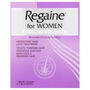Regaine for Women Regular Strength Hair Regrowth Solution 60ml