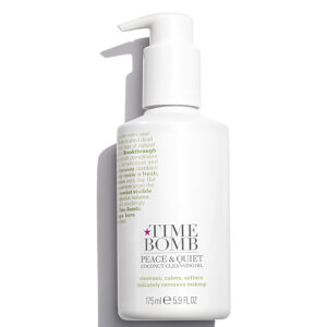 Time Bomb Peace and Quiet Coconut Cleansing Oil