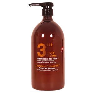 3 More Inches Cashmere Protein UV Protective Shampoo 1L