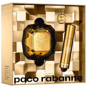 Paco Rabanne Lady Million Eau de Parfum 50ml and Travel Spray 10ml