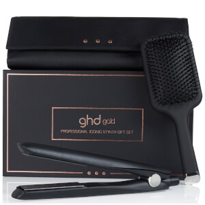 ghd Gold with Paddle Brush, Box and Heat-Resistant Bag (Worth £155.00)