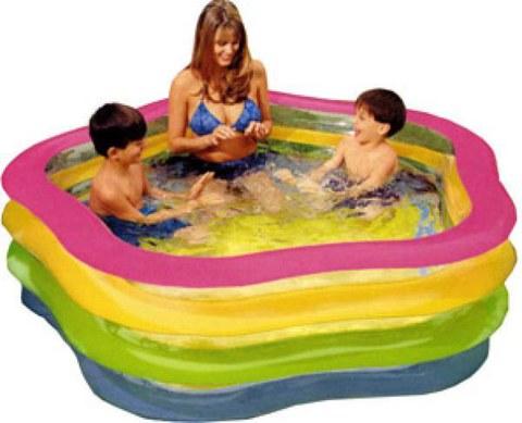 Intex Wetset Summer Colours Pool Swim Centre - 73x71 Inch
