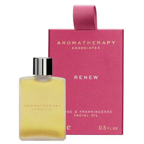Huile revitalisante visage Aromatherapy Associates (Rose et encens)