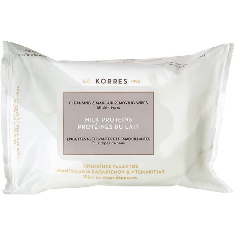 Korres Milk Proteins Cleansing Wipes