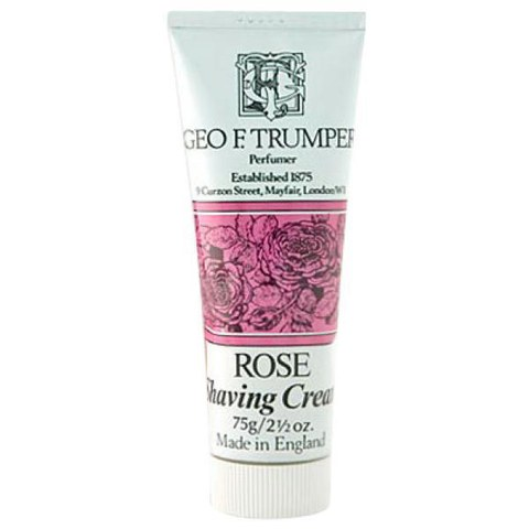 Trumpers Shave Cream - Rose 75gm Tube