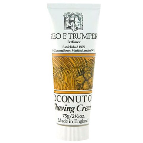 Trumpers Shave Cream - Coconut 75gm Tube