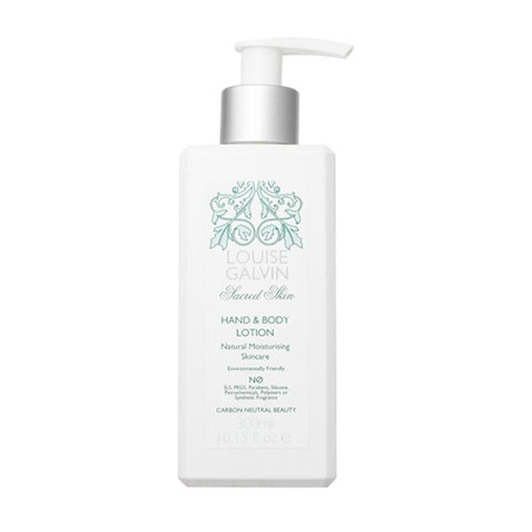 Louise Galvin Sacred Skin lotion mains et corps