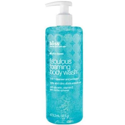 bliss Fabulous Foaming Body Wash 16oz