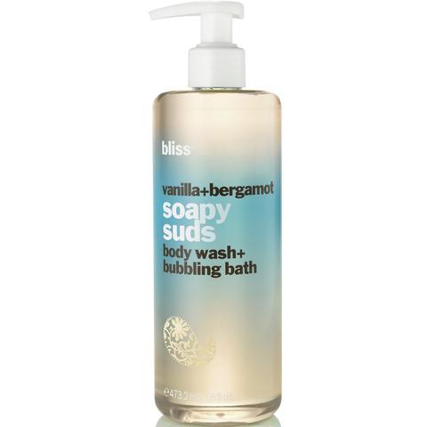 bliss Vanilla and Bergamot Soapy Suds 16oz