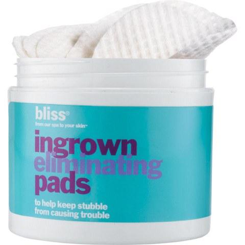 bliss Ingrown Hair Eliminating Pads (Peeling Pads gegen eingewachsene Haare)