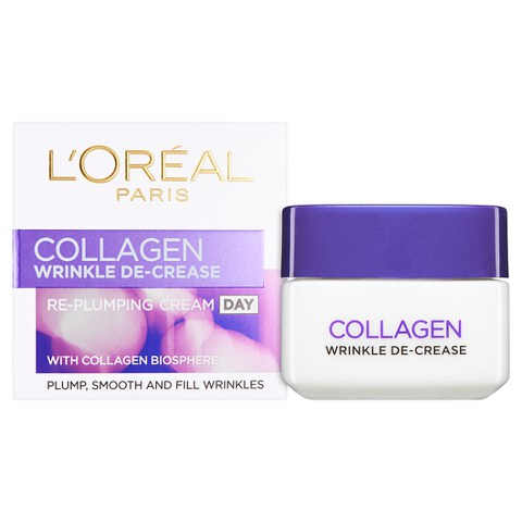 L'Oreal Paris Dermo Expertise Wrinkle Decrease Collagen Re-plumper Day Cream (50ml)