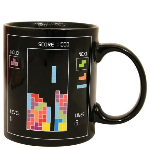 Taza Sensible Al Calor Tetris