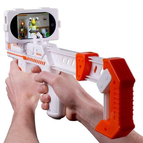 AppToyz AppBlaster - Augmented Reality Gaming for iPhone