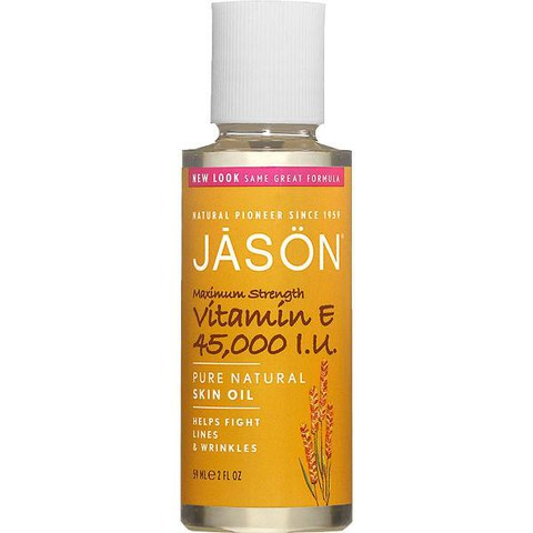 JASON Vitamin E 45,000iu Oil - Maximum Strength Oil (60ml)