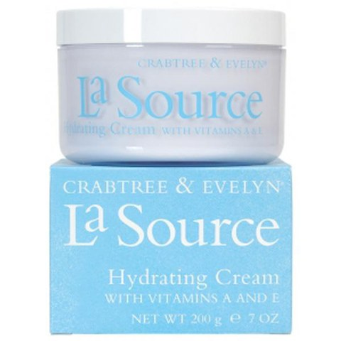 CRABTREE & EVELYN LA SOURCE HYDRATING CREAM WITH VITAMINS A & E (200G)