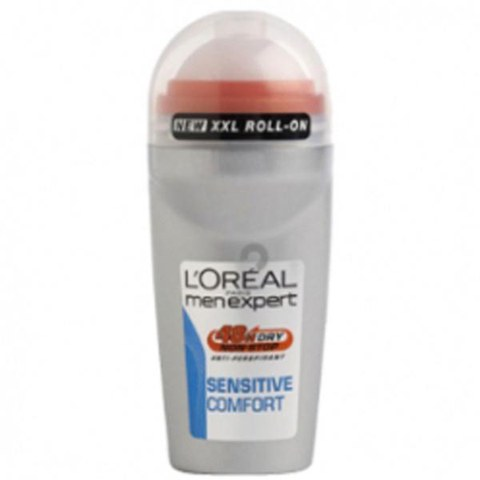 L'Oreal Paris Men Expert Sensitive Comfort Deodorant Roll-On (50ml)