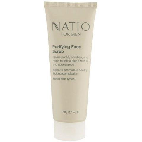 Exfoliante facial purificante Natio Men (100g)