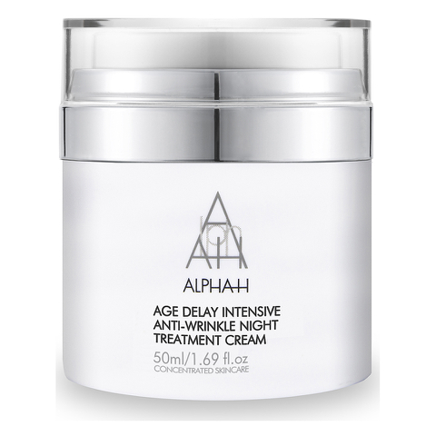 Crema de noche intensiva antiarrugas Alpha-H Age Delay (50ml)